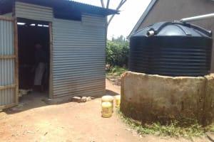 The Water Project: Kamuluguywa Secondary School -  Plastic Tank
