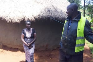 The Water Project: Mbande Community, Handa Spring -  Household