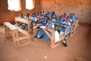 The Water Project: Katalwa Primary School -  Students In Class