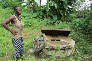 The Water Project: Tintafor, Fire Force Barracks Community -  Open Well