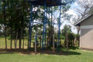 The Water Project: St. Stephen Maraba Secondary School -  Tank At Neighboring School