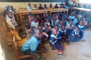 The Water Project: Kenneth Marende Primary School -  Students In Class