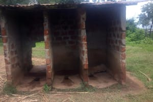 The Water Project: Shikhondi Girls Secondary School -  Latrines