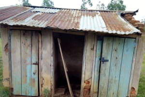 The Water Project: Lusiola Primary School -  Latrines