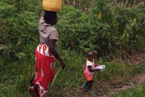 The Water Project: Chebwayi B Community, Wambutsi Spring -  Lorna Wambutsi