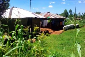 The Water Project: Lwangele Community, Machayo Spring -  Household