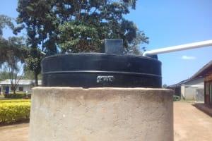 The Water Project: Imusutsu High School -  A Liter Tank