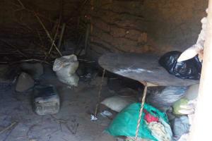 The Water Project: Chebwayi B Community, Wambutsi Spring -  Inside A Kitchen
