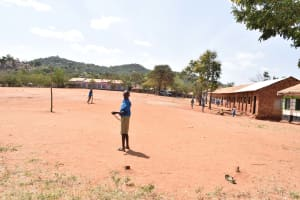 The Water Project: Katalwa Primary School -  School Grounds
