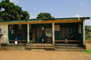 The Water Project: Kasongha Community, Maternal Child Health Post -  Health Clinic