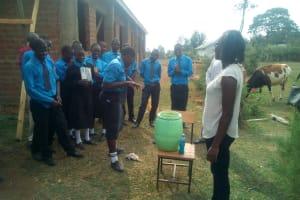 The Water Project: Mutsuma Secondary School -  Hand Washing Training