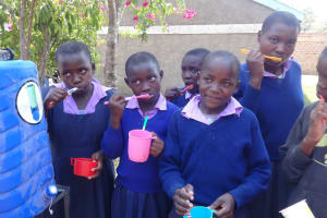 The Water Project: Ematetie Primary School -  Oral Hygiene Training