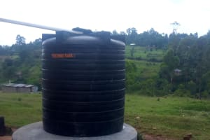 The Water Project: Shitoli Secondary School -  Plastic Water Tank