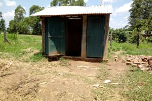 The Water Project: Bushili Primary School -  Latrines