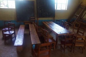 The Water Project: Eshilibo Primary School -  Inside A Classroom