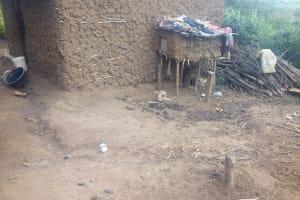 The Water Project: Mwituwa Community, Nanjira Spring -  A Backyard
