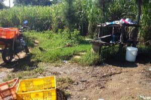 The Water Project: Chebwayi B Community, Wambutsi Spring -  Dish Rack