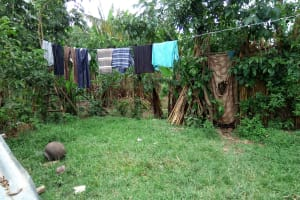 The Water Project: Muyundi Community, Baraza Spring -  Clothesline