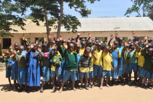 The Water Project: Kithumba Primary School -  Students And Their Teachers