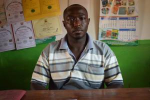 The Water Project: Katalwa Primary School -  Deputy Headteacher Simon Kamau