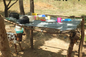 The Water Project: Kitali Community -  Dish Rack