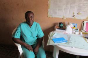 The Water Project: Kasongha Community, Maternal Child Health Post -  Nurse Kamara