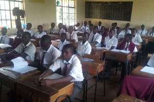 The Water Project: Bishop Makarios Secondary School -  Students