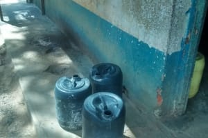 The Water Project: Essaba Secondary School -  Water Containers