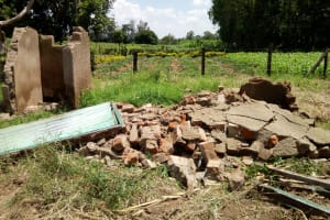 The Water Project: Bushili Primary School -  Demolished Latrines