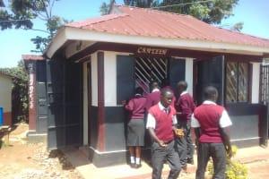 The Water Project: Imusutsu High School -  School Canteen