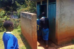 The Water Project: Eshilibo Primary School -  Latrines