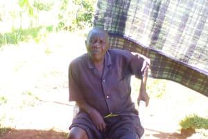 The Water Project: Lwangele Community, Machayo Spring -  Mr Machayo