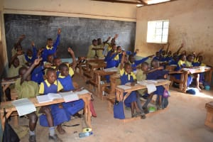 The Water Project: Ndaluni Primary School -  Students And Teachers