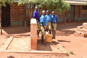 The Water Project: Katalwa Primary School -  Seasonal Pipeline