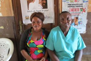 The Water Project: Kasongha Community, Maternal Child Health Post -  Clinic Staff