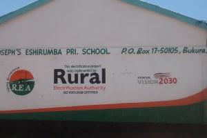 The Water Project: St. Joseph Eshirumba Primary School -