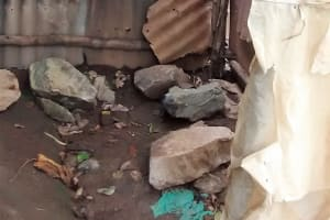 The Water Project: Luvambo Community, Timona Spring -  Inside The Bathroom