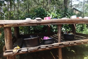 The Water Project: Shihalia Primary School -  A Dishrack At The School