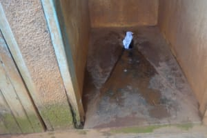 The Water Project: Shihalia Primary School -  Inside The Latrines