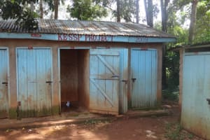 The Water Project: Shihalia Primary School -  School Latrines