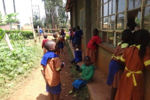 The Water Project: Shihalia Primary School -  Students At Break