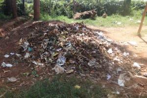The Water Project: Shihalia Primary School -  Dumpsite At The School