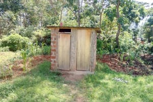 The Water Project: Muyere Primary School -  Latrines At The School Compound