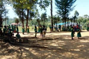 The Water Project: Muyere Primary School -  Students At The School Compound
