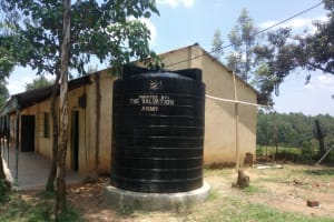 The Water Project: Naliava Primary School -  A Plastic Water Tank At The School