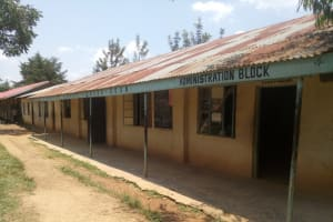The Water Project: Naliava Primary School -  Administration Block