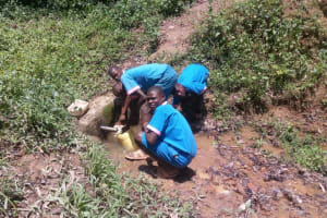 The Water Project: Naliava Primary School -  Boys Fetch Water