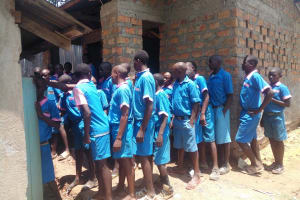 The Water Project: Naliava Primary School -  Congestion At The Boys Latrine