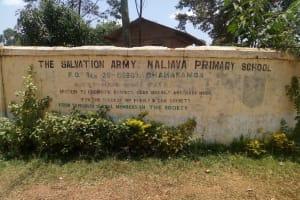 The Water Project: Naliava Primary School -  School Sign