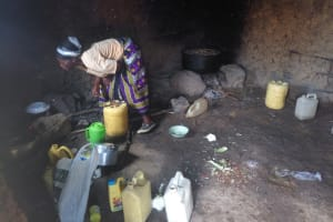 The Water Project: Naliava Primary School -  Schools Cook At The Fireplace